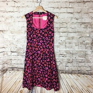 Kate Spade Leopard Dress, Size 4
